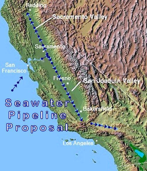 California Seawater Pipeline